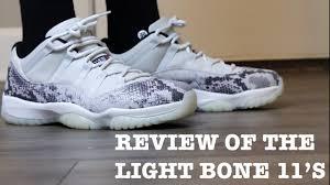 Jordan 11 Snakeskin Light Bone Release Date