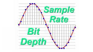 bit depth and sample rate bit depth and sample rate