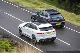 BMW 3 Series xc60 vs bmw x3 : Jaguar F-Pace vs Porsche Macan - luxury SUVs compared | Autocar