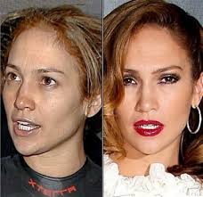 here s diva j lo in a makeup free moment