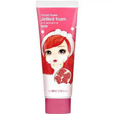 THE ORCHID SKIN ORCHID FLOWER JELLIED FOAM TAENG ...
