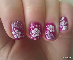Decorative Nail Art Designs Simple flower nail art how you can do it at home Pictures designs 38