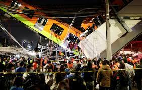 At least 23 dead after Mexico City subway overpass collapses