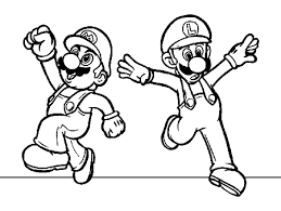 Small Picture Printable Luigi Coloring pages Coloring Me