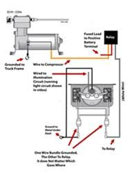 wiring diagram for firestone level command ii on board compressor click to enlarge