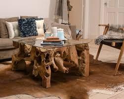 rustic coffee table  teak furniture  puji home furnishings
