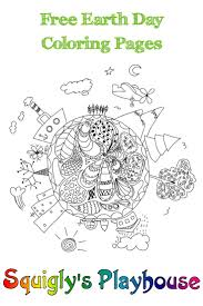 Free Earth Day Coloring Pages For Kids Earth Day Activities