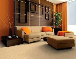 Burnt Orange And Brown Living Room Property Custom Decorating Design