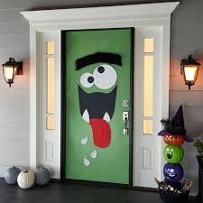 halloween front door decorationsBest 25 Monster door ideas on Pinterest  Monster door decoration