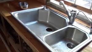 Installing The Kitchen Plumbing In My Tiny House O YouTube - Installing a kitchen sink