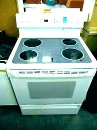 glass top stove replacement wonderful kitchen electric replace throughout frigidaire gallery st