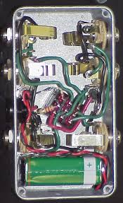 who makes a two loop ab looper pedal the gear page and here is the schematic