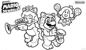 Coloriage Super Mario 3d World En Ligne