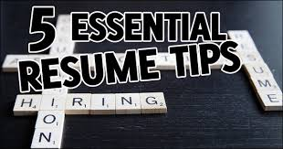 5 Essential Resume Tips That Will Land You The Interview