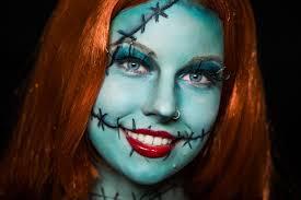 nightmare before sally makeup tutorial no within nightmare before sally makeup