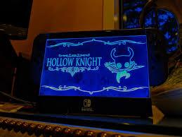 Nintendo Switch Dock Light Up Custom Hollow Knight Panel For Switch Light Up Dock