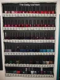 diy nail polish rack january 19 2016 alli alli recently