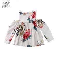 <b>2019 Emmababy</b> Infant Baby Girls Dresses Off <b>Floral</b> Off Shoulder ...