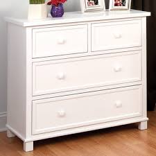 Child Craft 3 Drawer Single Dresser in White FREE SHIPPING