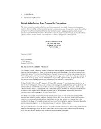 Free Grant Proposal Cover Letter Template Grant Cover Letter