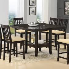 glass dining room table sets. Essentials Dining Room Design Square Table Wooden Seat Black Rugs Glass Modern Sets P