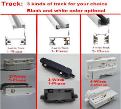 track lighting rails. 4 Wire 3 Phase Circuit Track Rail,Track Light Rail Connectors,Universal Rails,aluminum Track,lighting Fixtures,Free Shipping-in Lighting From Lights Rails R