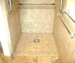 custom shower base pan systems medium size of tile installation fiberglass with linear drain kits