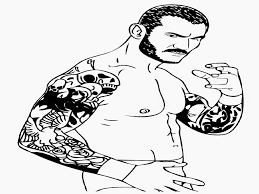 Small Picture Randy Orton Coloring Pages New Coloring Page Wwe Randy Orton