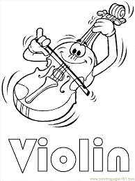 Music Coloring Pages Printable Coloring Page Music Coloing