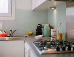 retro green kitchen small apartment kitchen decorating ideas modern double galley kitchen style glass metal wall