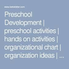 Preschool Development Preschool Activities Hands On