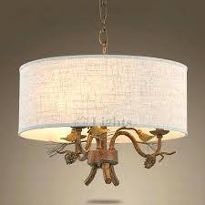 diy drum lamp shade chandelier rustic drum shade chandelier 3 light bird decoration chandelier with drum
