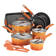 rachael ray pan set. Wonderful Ray Rachael Ray Cucina Hard Enamel Nonstick 12Piece Cookware Set  Walmartcom And Pan H