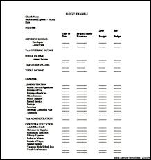 Sample Church Budget Template Download Pdf Sample