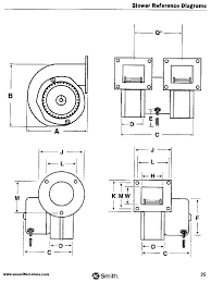 centrifugal blowers 50756 d500 fasco 320 cfm centrifugal blower 115 vac