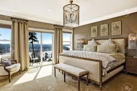 Luxus Schlafzimmer Interieur Mit Reich Möbel Und Wunderschöne