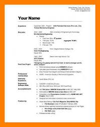 8 9 Guide To Writing A Resume Samples