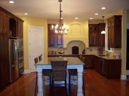 Kitchen With Hardwood Floors Dark Kitchen Cabinets With Dark Hardwood Floors Alkamediacom