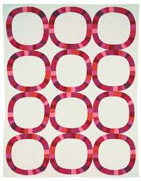 Quilt Inspiration: Single Wedding Ring Quilts & The Single Girl Quilt shown above is Denyse Schmidt's witty take on the  traditional double wedding ring. The pattern, which features giant pieced  rings, ... Adamdwight.com