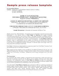Business Press Release Template Printable Press Releases Examples Format Event Press Release