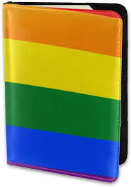 Amazon.com | Travel Passport Cover Case, Passport Holder With One Pocket  Card Cover Gay Lgbt Pride Flag In Rainbow Transgender Couple Aromantic  Asexual | Passport Covers