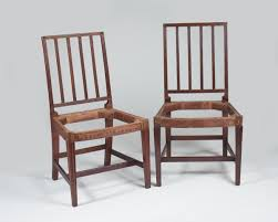 PAIR OF PORTSMOUTH NEW HAMPSHIRE HEPPLEWHITE CARVED MAHOGANY SIDE