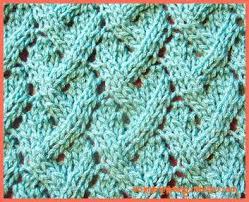 Knit Stitch Patterns Unique Loose Lattice Lace Pattern Another Pretty Lace Knitting Stitch Pattern
