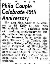 Charles & Viola Johnson Celebrate 45th Anniversary | Whispering Across the  Campfire