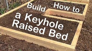Small Picture How to Build a Keyhole Raised Garden Bed YouTube