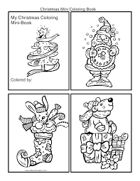 Free Printable Mini Coloring Pages Fabulous Free Printable Mini Christmas Coloring Book L