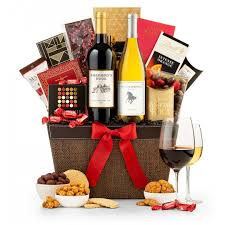 wine baskets wine tasting and chocolatier s selection