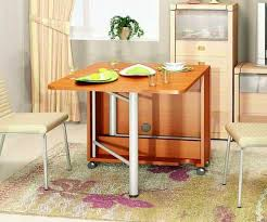40 Space Saving Folding Table Design Ideas For Functional Small Rooms Magnificent Dining Table For Small Room Model