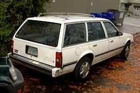OLD PARKED CARS.: 1983 Chevrolet Cavalier CS 2.0.