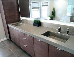 concrete sinks concrete bathroom sink or this is a contemporary concrete bathroom sink by concrete thick concrete sinks